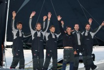 2nd October, 2012. The finish of the MOD70 European Tour 2012. Genoa. Italy