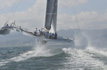 Orion Racing sailing in the pacific