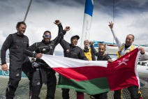 MOD70 Musandam Oman Sail wins the Sevenstar Round Britain and Ireland race 2014